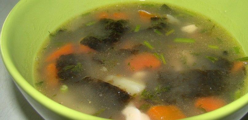 Морской суп («уха» по-вегану)