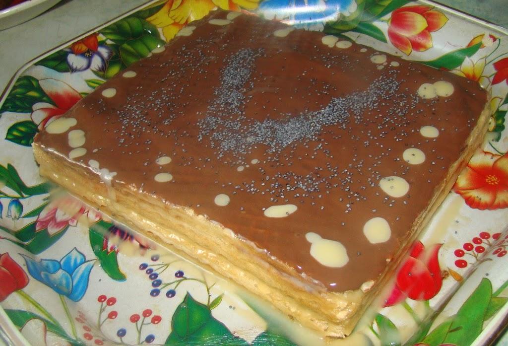 Вафельный торт и рецепт веганской сгущенки