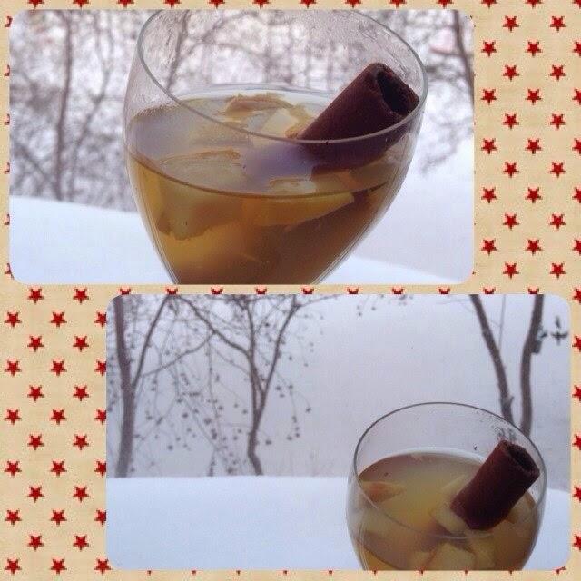 Безалкогольный виноградный глинтвейн