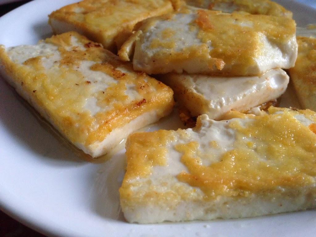 Шелковый тофу в панировке