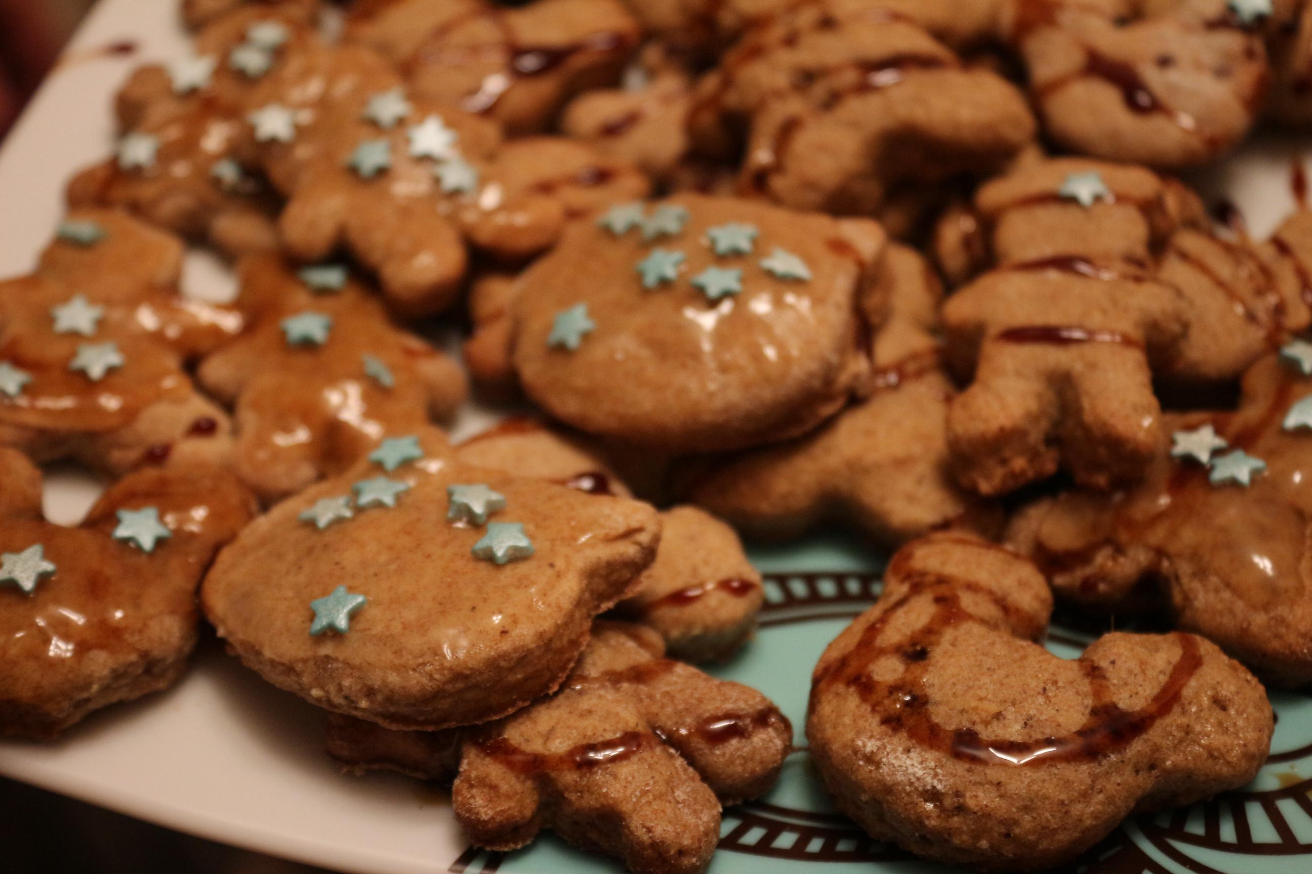 Веганское пряное печенье