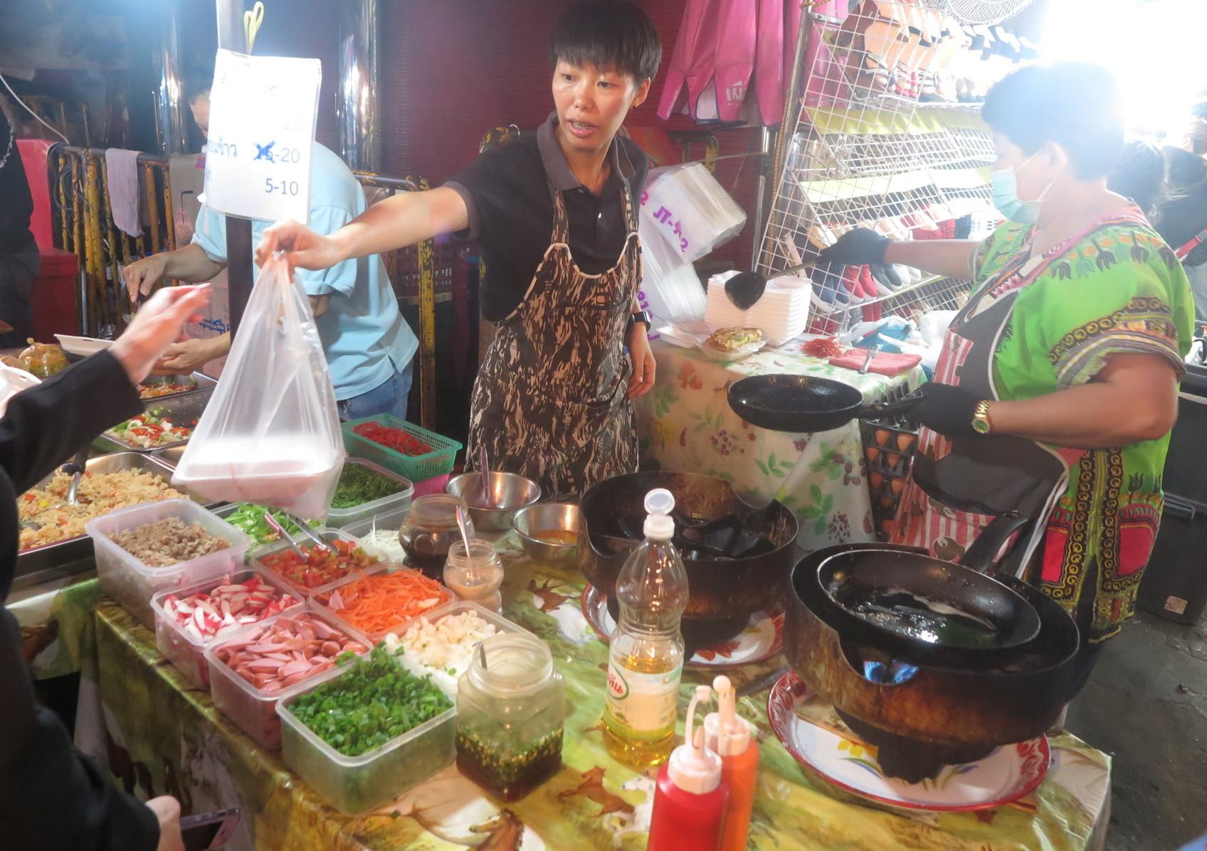 Не веганские ингредиенты в тайской кухне
